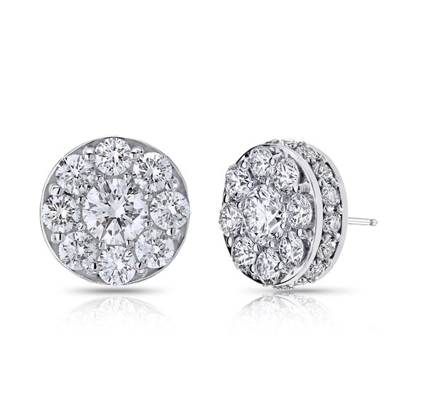 Diamond Earrings by Morrison Smith Signature Collection