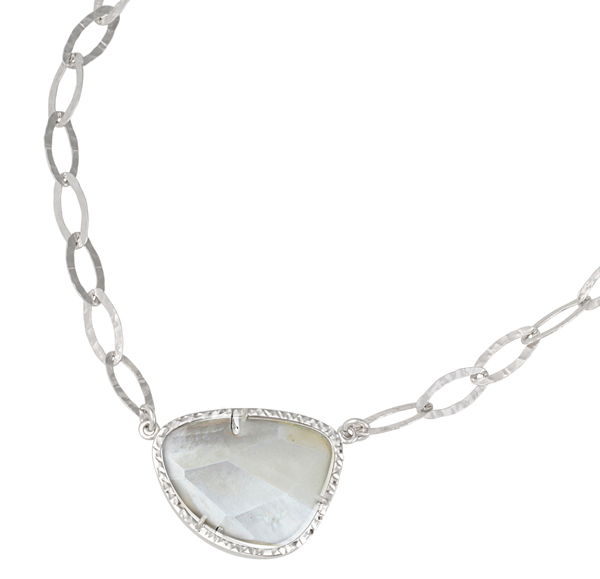 Sterling/Gold Necklace by Frederic Duclos