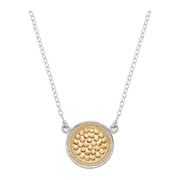 Sterling/Gold Pendant by Anna Beck Jewelry
