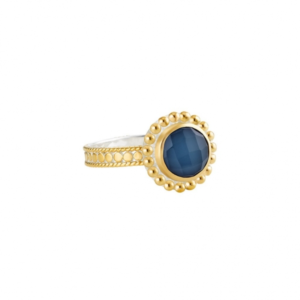 Sterling/Gold Ring by Anna Beck Jewelry