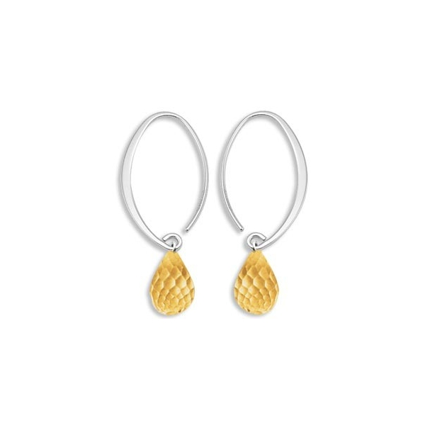 Sterling/Gold Earrings by Carla/Nancy B