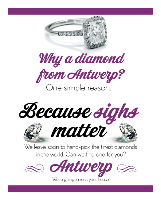 Why a diamond from Antwerp?