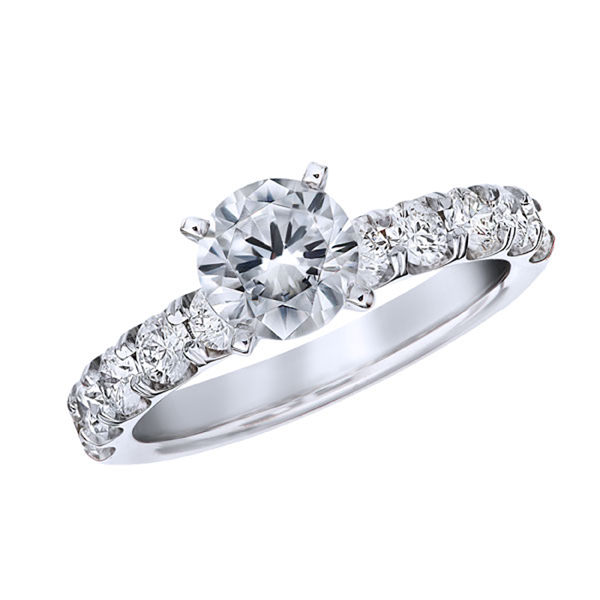 Diamond Ring by Morrison Smith Signature Collection