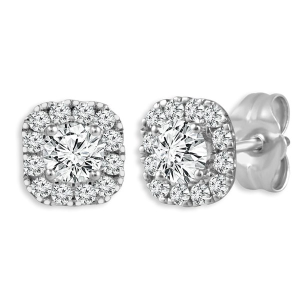 Diamond Earrings by IDD
