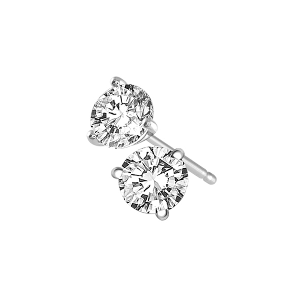 Diamond Stud Earrings by IDD