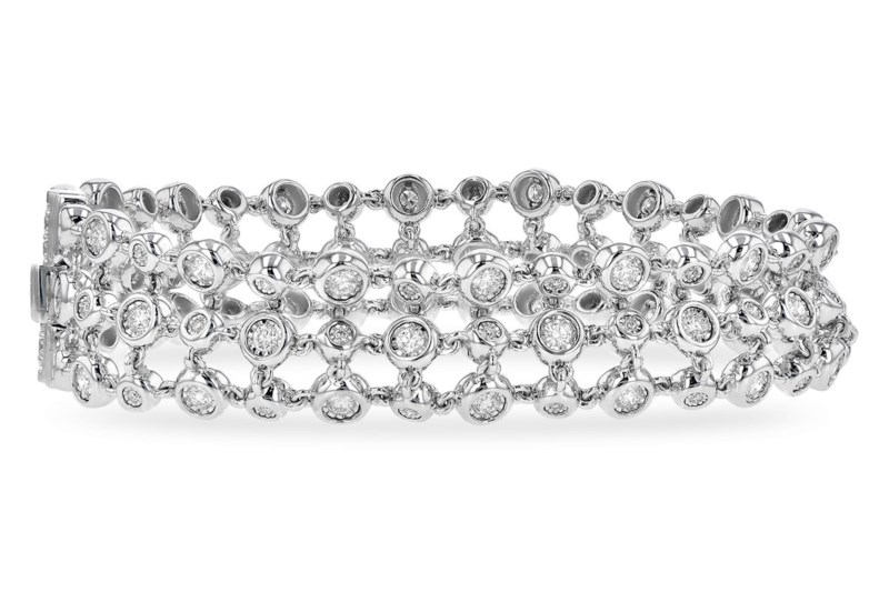 Diamond Bracelet by Allison Kaufman