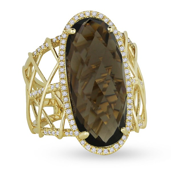 Colored Stone Fashion Ring by Madison L