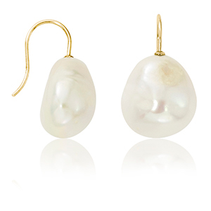 Pearl Earrings by Carla/Nancy B