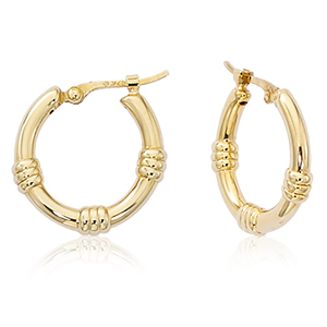 Gold Earrings by Carla-Nancy B