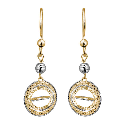 Gold Earrings by Artistry, Ltd.