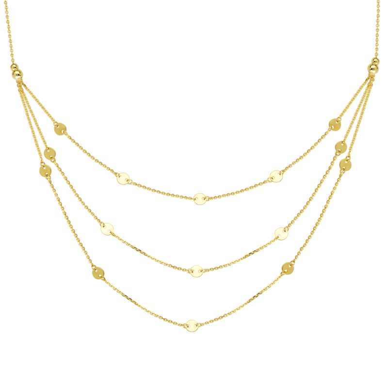 Gold Necklace by Midas