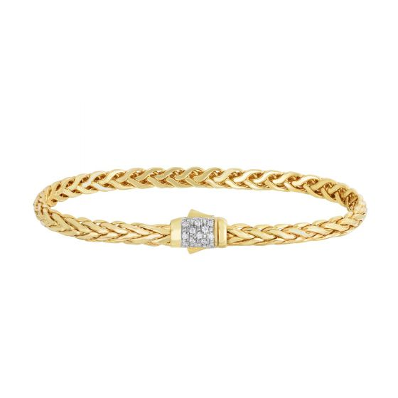 Gold Bracelet by Royal Chain