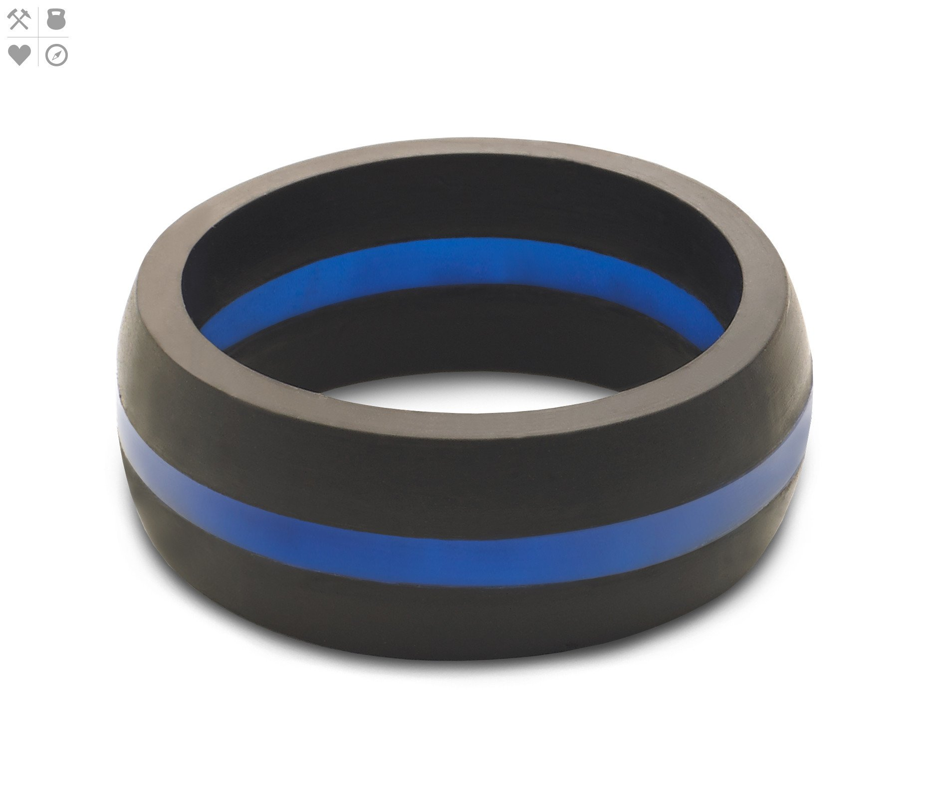 Wedding Band by QALO Silicone Rings