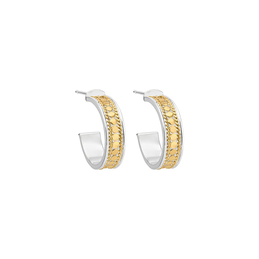 Sterling/Gold Earrings by Anna Beck Jewelry